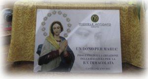 Coronación de la Virgen del pueblo de la Madre Eufrasia