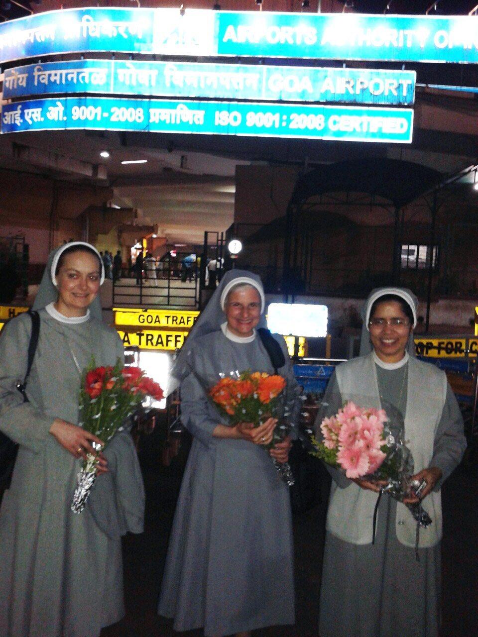 Las Hijas de la Inmaculada Concepción visitan Goa