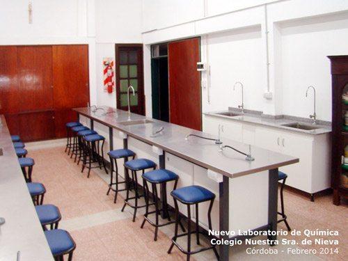 Nuevo Laboratorio Colegio Ntra. Sra. de Nieva