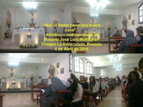 Nueva Capilla en el Colegio de Rosario