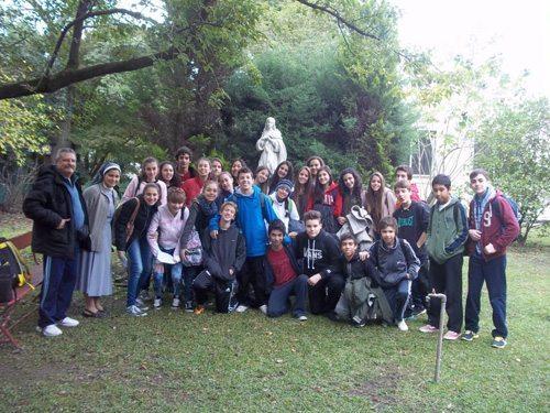 Actividades misioneras en el Colegio N. S. del Carmen
