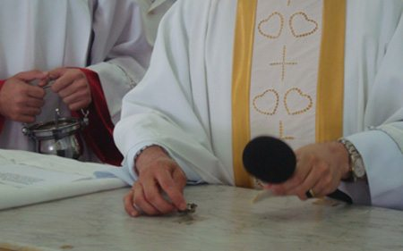 "Apostolado de la ""Sagrada Face"" en Lavras"