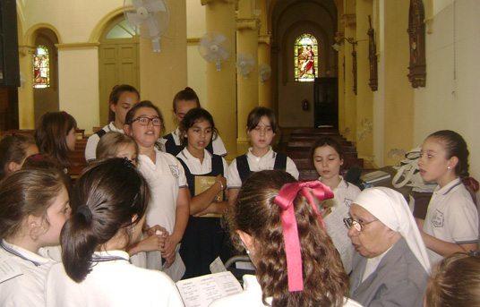Festejos de Navidad en el Colegio Sagrado Corazón de Jesús