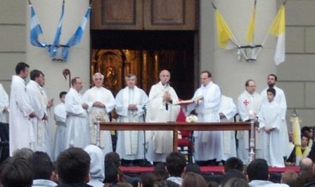 Misa por la Educación en Plaza de Mayo