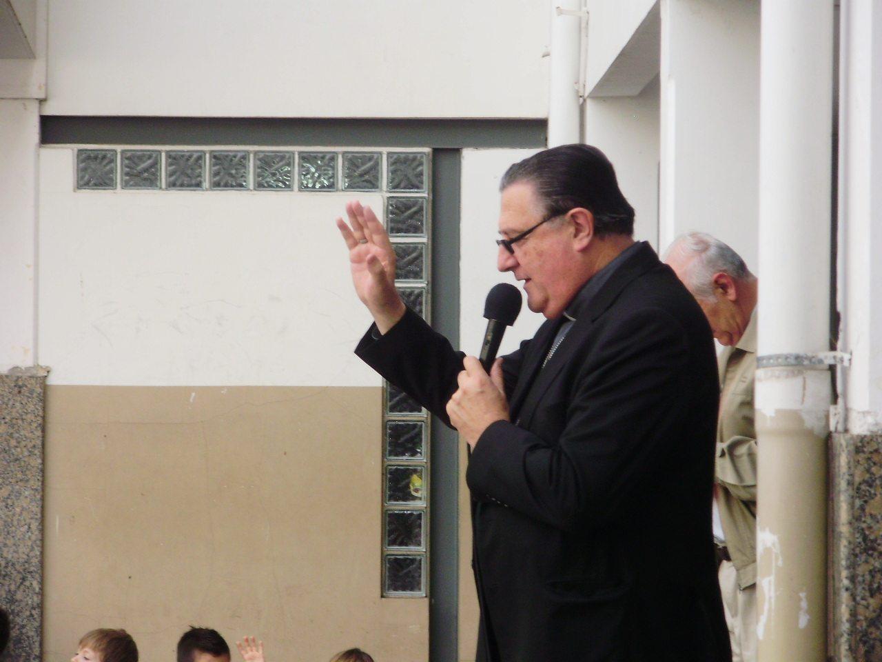 Visita de nuestro Pastor