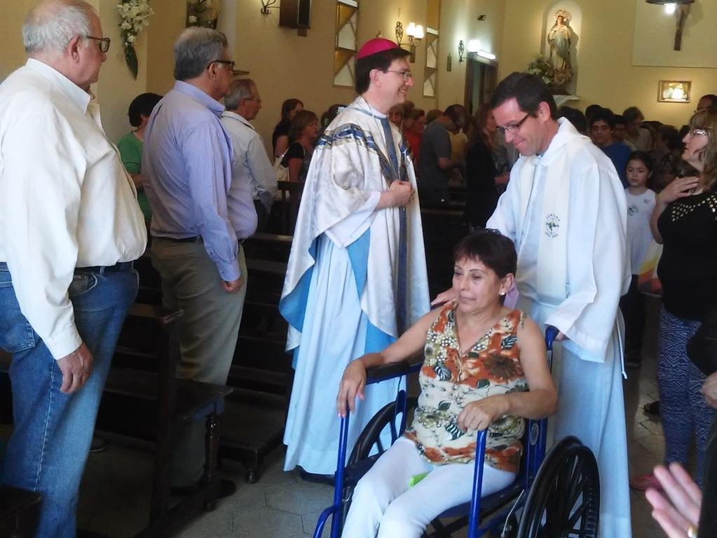 Triduo Pascual en el Hospital Pirovano