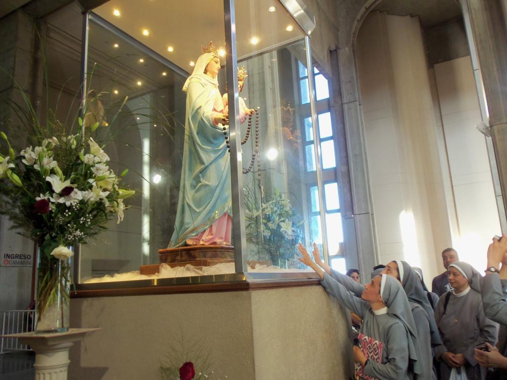 Peregrinación a la casa de María del Rosario de San Nicolás