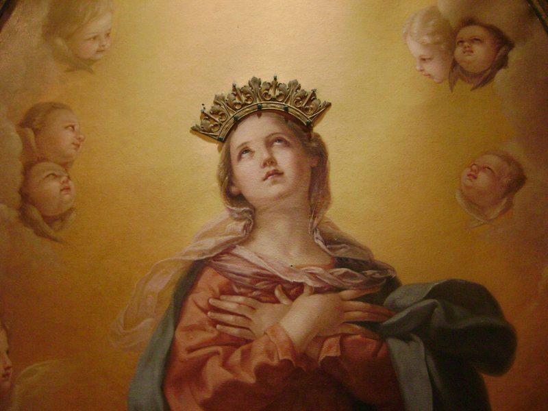 Reina Inmaculada, te coronamos