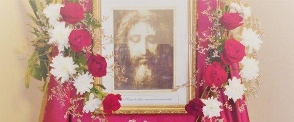 Divino Rostro de Jesús, míranos con misericordia