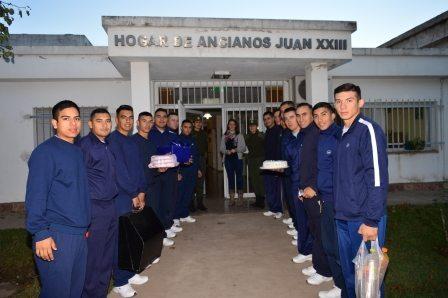 La Escuela de Gendarmería nos visita