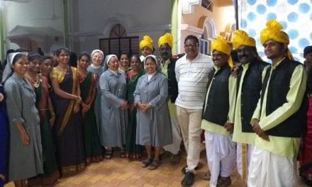Primera celebración de la Inmaculada en India