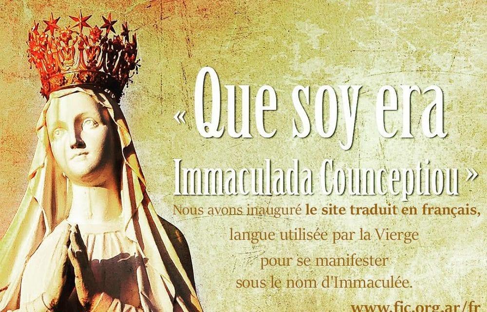 Site traduit en français