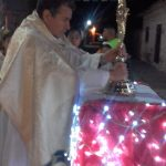 Fiesta en la comunidad por la presencia de Jesús Sacramentado