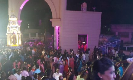 Fiesta de San Antonio en Hubli