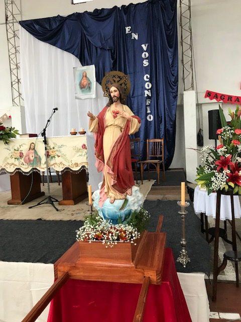 Festejos en el día del Sagrado Corazón