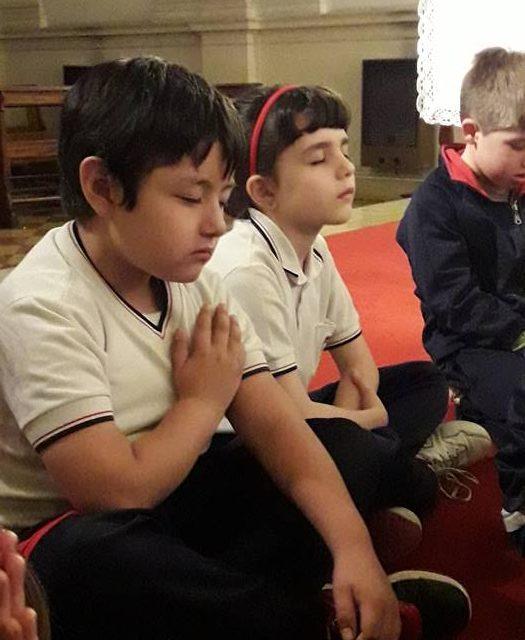 Los niños y la Oración Ignaciana