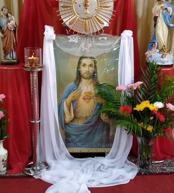 Honrando el Corazón de Jesús